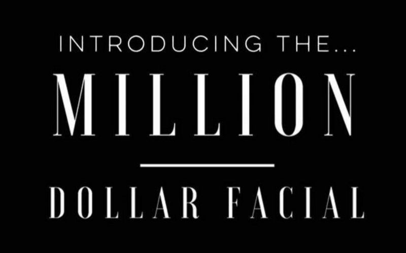 Million Dollar Facial at Anew Aesthetics